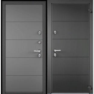 Дверь входная TOREX Снегирь 100 SW-HT2 Графен