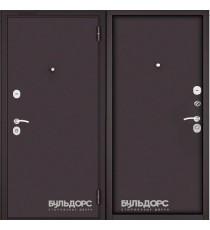 Дверь входная БУЛЬДОРС MASS 70 Steel букле шоколад