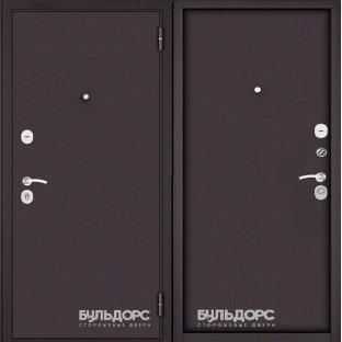 Дверь входная БУЛЬДОРС MASS 70 букле шоколад