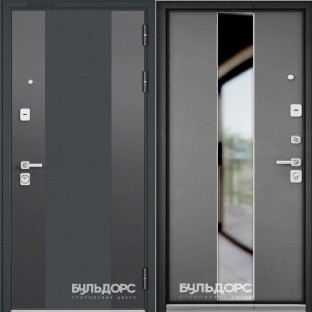Дверь входная БУЛЬДОРС PREMIUM-90  Si-4 mirox grey