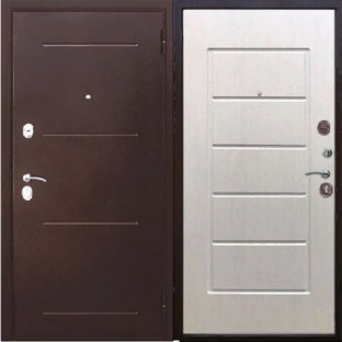 Дверь входная Гарда МА 7,5 см.,  Белый Ясень