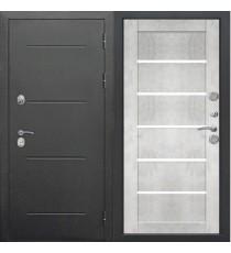 Дверь входная ИЗОТЕРМА 11 см Бетон снежный царга