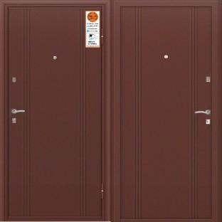 Дверь входная ТУЛЬСКИЕ ДВЕРИ A06 MM оцинкованная