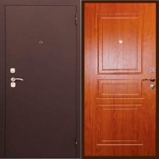 Дверь входная ТУЛЬСКИЕ ДВЕРИ А3 Монолит Золотой дуб
