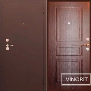 Дверь входная ТУЛЬСКИЕ ДВЕРИ А4 Грант Венге винорит