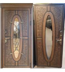 Дверь входная ТУЛЬСКИЕ ДВЕРИ Оксфорд стеклопакет