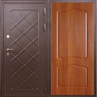 Дверь входная АЙРОН Старое дерево