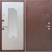 Дверь входная АМПИР, Белый ясень