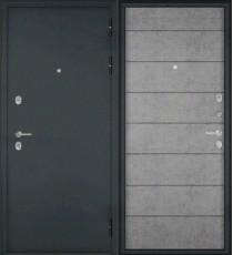 Дверь входная БУЛЬДОРС MASS 90 9S-135 Букле графит
