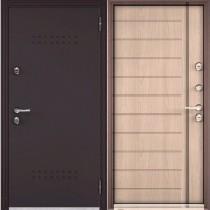 Дверь входная БУЛЬДОРС TERMO 100 R5 Ясень ривьера