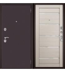 Дверь входная БУЛЬДОРС ECONOM-70 CR-142 Ларче бьянко
