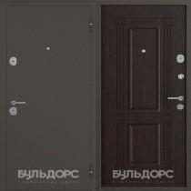Дверь входная БУЛЬДОРС-14  букле шоколад B5 Венге