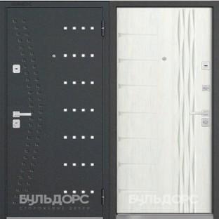 Дверь входная БУЛЬДОРС-44 (90 мм), R-15\N-11 Ларче бьянко