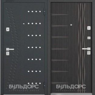 Дверь входная БУЛЬДОРС- 44 (90) мм, R15/N11 Ларче темный
