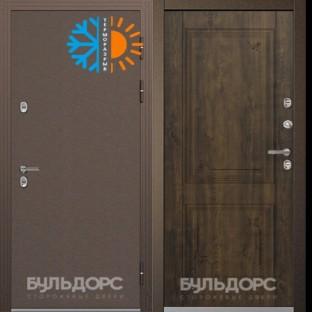 Дверь входная БУЛЬДОРС STANDART 70, Царга Ларче бьянко