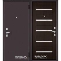 Дверь входная БУЛЬДОРС-10 P NEW, Ларче шоколад, P8, Г1512