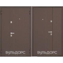 Дверь входная Бульдорс Steel-13Д (Двухстворчатая) медь