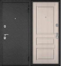 Дверь входная БУЛЬДОРС ECONOM-60 ED-2 Ларче бьянко