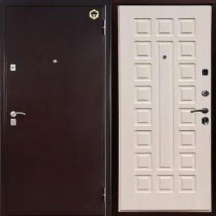Дверь входная БУЛЬДОРС 13 медь А-3 Шамбори светлый