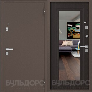 Дверь входная БУЛЬДОРС MASS 70 SK-3 зеркало