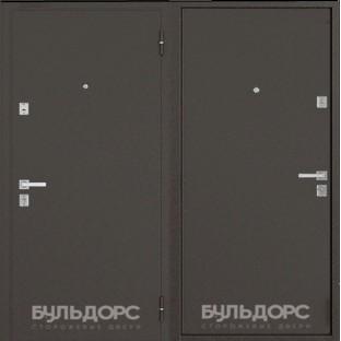 Дверь входная БУЛЬДОРС Steel-12 new Букле шоколад