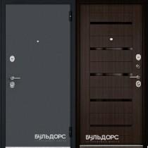 Дверь входная БУЛЬДОРС STANDART 70, Царга Ларче шоколад