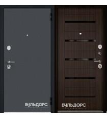 Дверь входная БУЛЬДОРС ECONOM-70 CR-142 Ларче шоколад