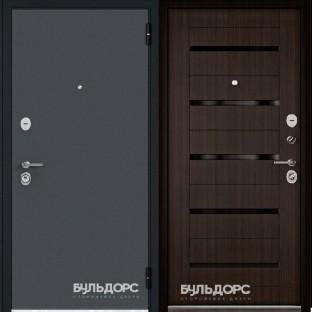 Дверь входная БУЛЬДОРС ECONOM-70 Царга Ларче шоколад