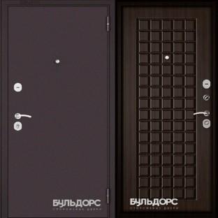 Дверь входная БУЛЬДОРС ECONOM-70 Ларче шоколад