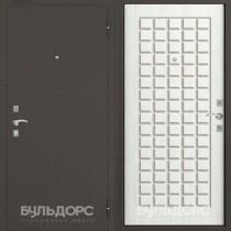 Дверь входная БУЛЬДОРС-10 C NEW CK-3, Ларче бьянко
