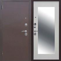 Дверь входная ЦАРСКОЕ ЗЕРКАЛО Макси Дуб сонома/Белый ясень