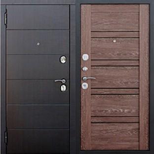 Дверь входная ЧИКАГО 10,5 см Царга Дуб шале