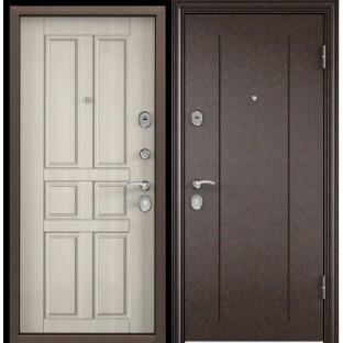 Дверь входная TOREX Delta M-10, D12 Белый перламутр