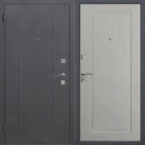 Дверь входная ДОМИНАНТА Муар Ясень серый эмаль