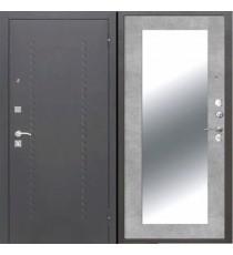 Дверь входная ДОМИНАНТА Бетон серый