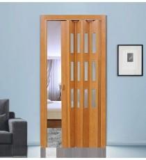 Дверь-гармошка ПВХ ФАВОРИТ Миланский орех