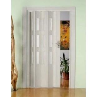Дверь-гармошка ПВХ ФАВОРИТ Серый ясень