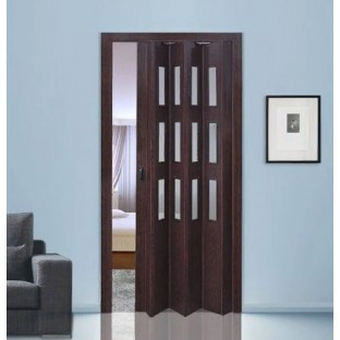 Дверь-гармошка ПВХ ФАВОРИТ Венге