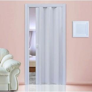Дверь-гармошка ПВХ СТИЛЬ Белая