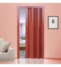 Дверь-гармошка ПВХ СТИЛЬ Вишня