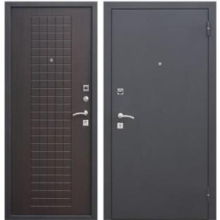 """Дверь входная  """"ГАРДА Муар 8 мм."""", Венге"""