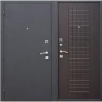 Дверь входная ГАРДА Муар 8 мм Венге