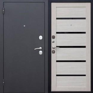 Дверь входная ГАРДА Муар царга Лиственница мокко