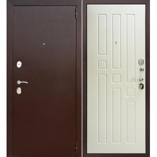 """Дверь входная  """"ГАРДА 8 мм."""", МА Белый ясень"""
