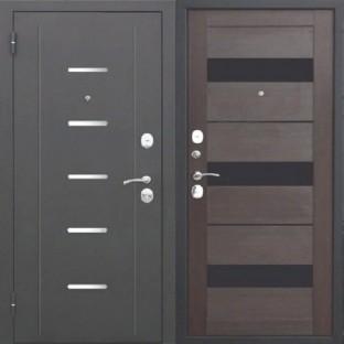 Дверь входная ГАРДА 7.5 см  Муар царга Темный кипарис