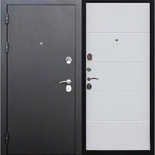 Дверь входная 7,5 см Гарда муар Ясень белый эмаль