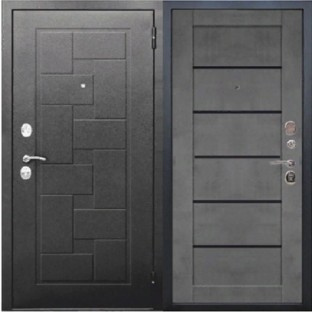 Дверь входная ГАРДА Серебро Бетон серый