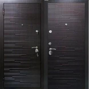 Дверь входная ГОТЛАНД, Венге