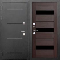 Дверь входная ИЗОТЕРМА 11 см Серебро Темный кипарис Царга