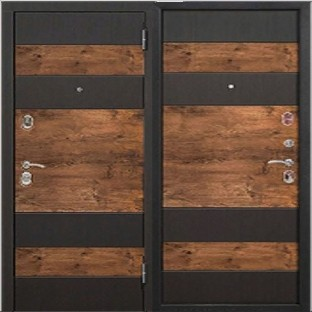 Дверь входная ОКСФОРД, 9.5 см